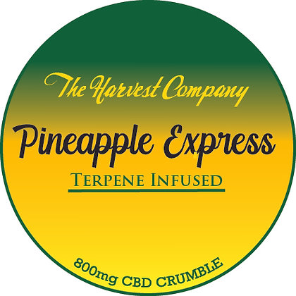 The Harvest Company Pineapple Express 800mg CBD Crumble