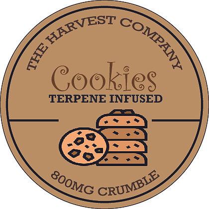 The Harvest Company Cookies 800mg CBD Crumble