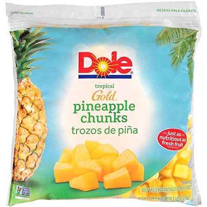 Dole Frozen Pineapple Chunks - 5lb Bag