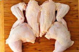 Case Whole Quartered 3-3.25lb Chickens