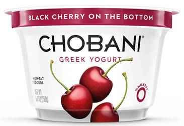 Chobani Fat-Free Greek Yogurt - Case of 12