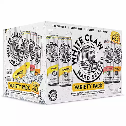 White Claw Variety 12-Pack Cans