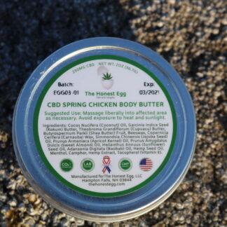The Honest Egg Topical CBD Body Butter