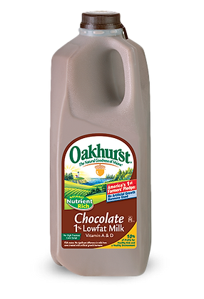 Oakhurst Lowfat Chocolate Milk