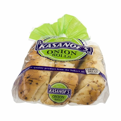Kasanof's Onion Rolls 12-Pack