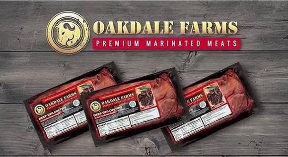 Oakdale Farms Bourbon Steak Tips 1.5lb Package