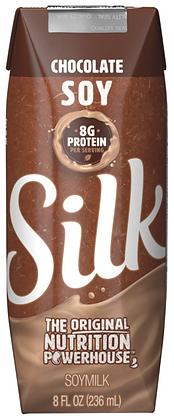 Silk Chocolate Soy Milk 8oz - Case of 18
