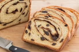 Fire King Cinnamon Raisin Swirl Bread Loaf
