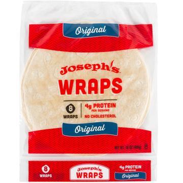 "Joseph's 10"" Tortilla Wraps 12-Pack"