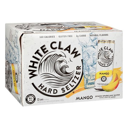 White Claw Mango 12-Pack Cans