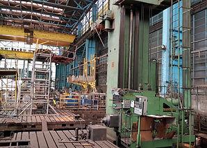 Horizontal boring and milling machine Er