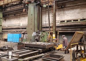 Horizontal boring and milling machine PA