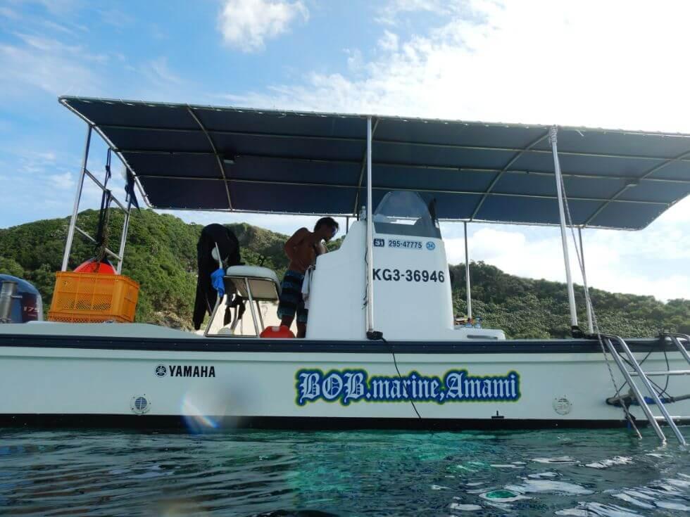 奄美大島瀬戸内町にあるマリンスポーツショップ『ボブマリン奄美』で奄美の海を大満喫!