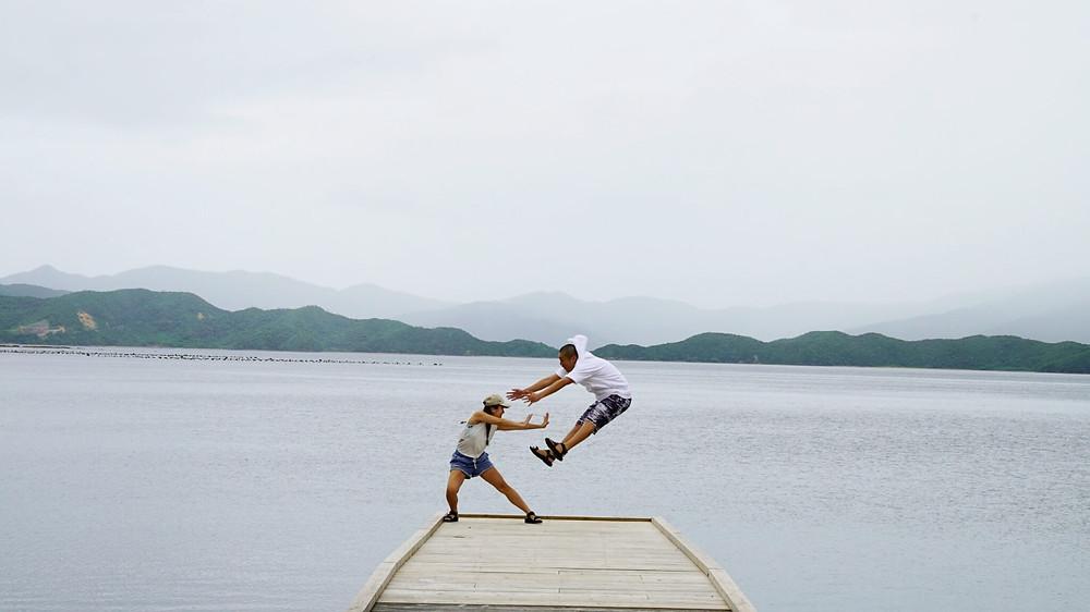 奄美大島・加計呂麻島 武名集落の桟橋
