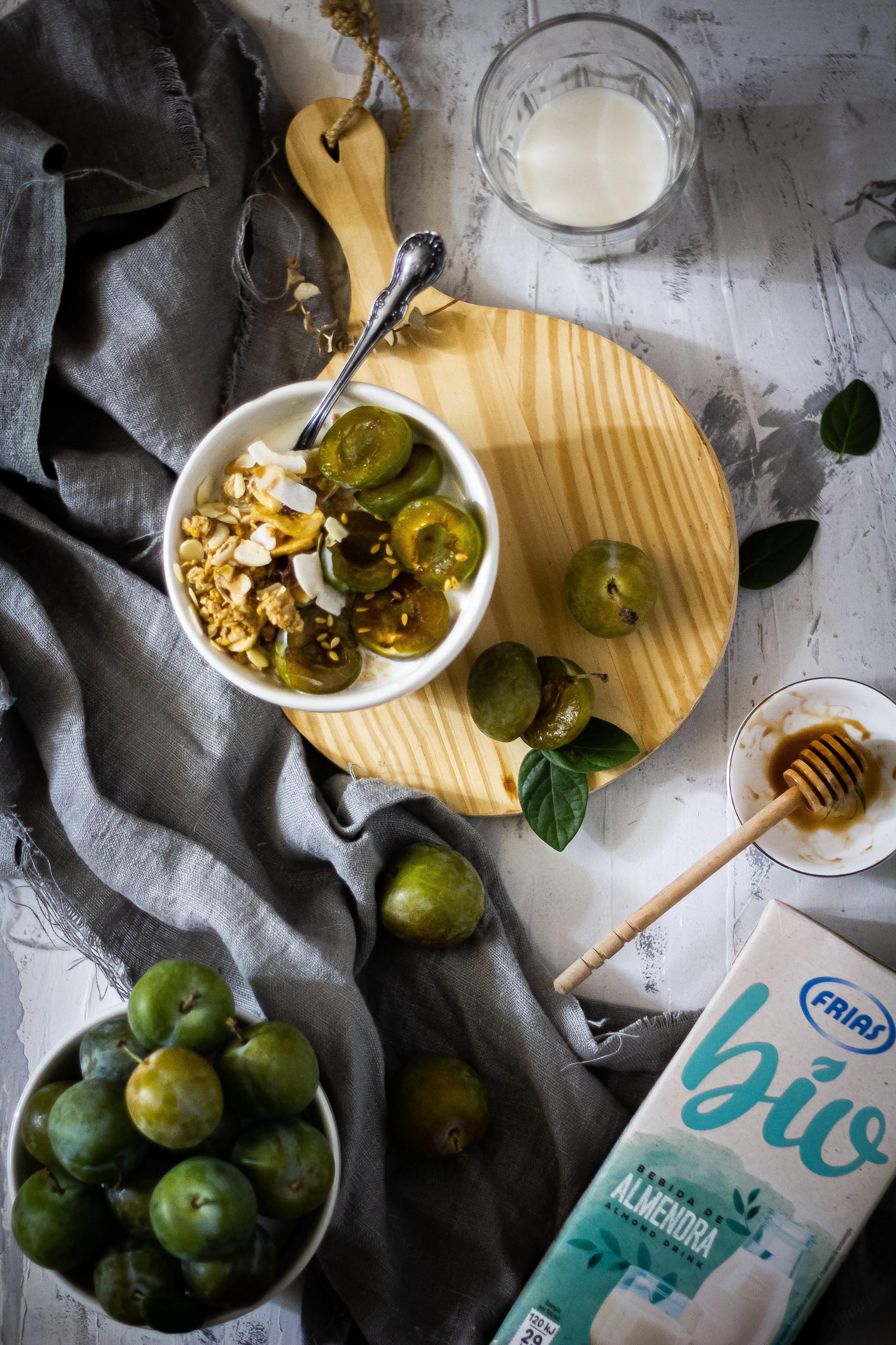 Porridge de almendras