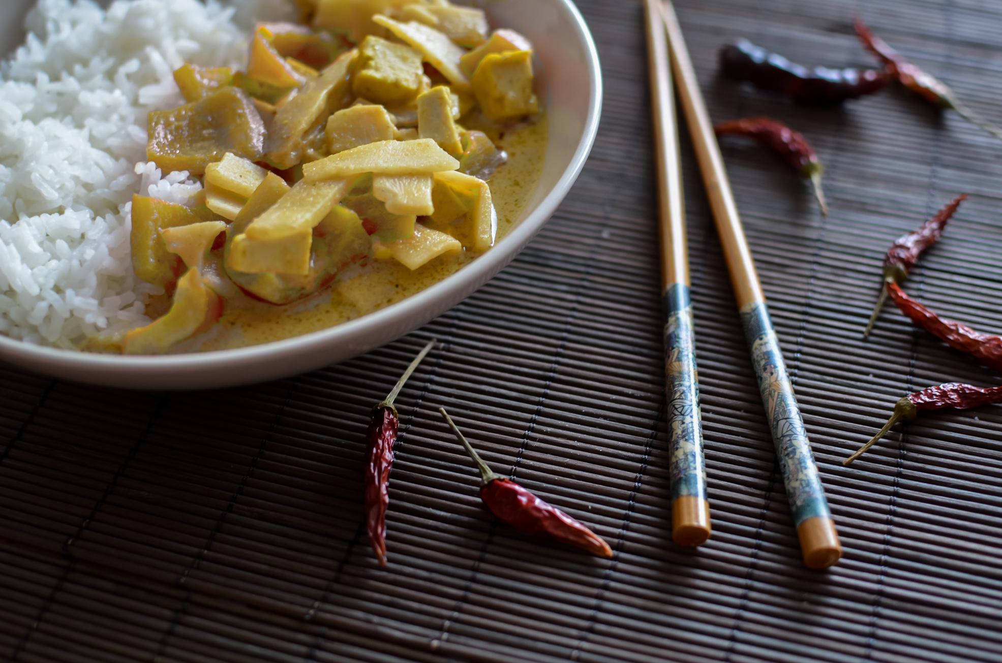 Tofu y Arroz con Curry