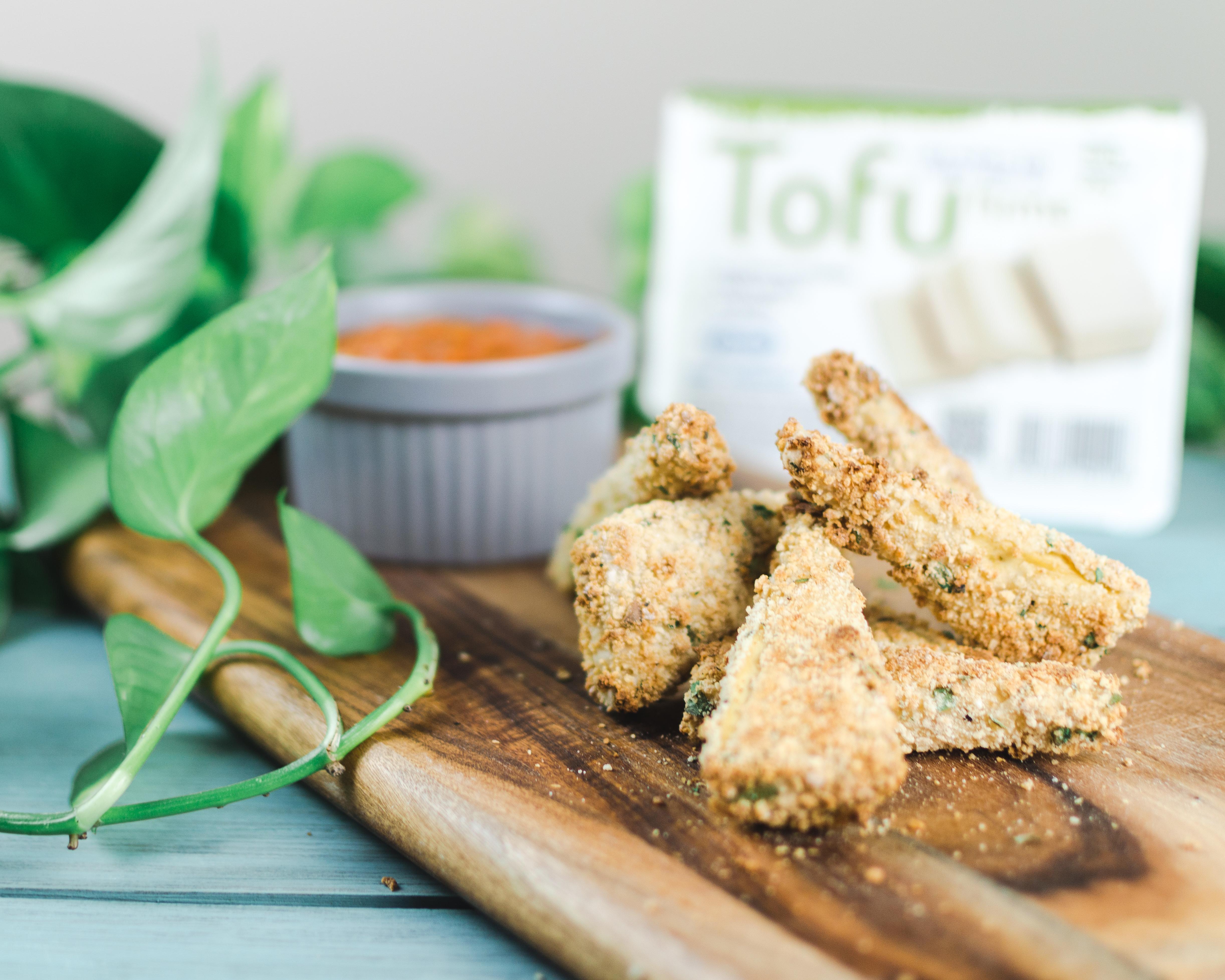 Triangulos de tofu