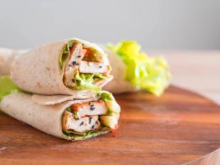 Wraps veganos de tofu ;)