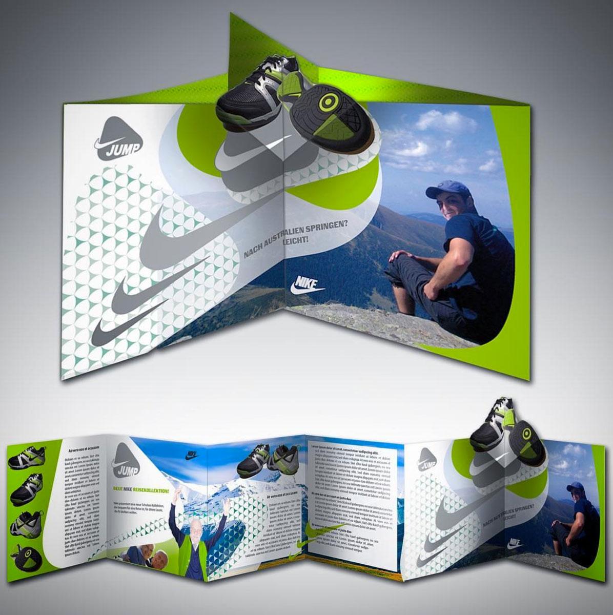 Nike Booklet Design