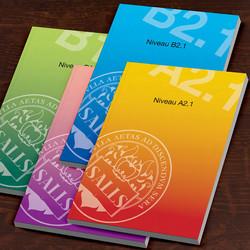 Book cover design for SALLS College