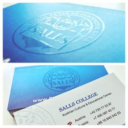 SALLS Businesscard Design