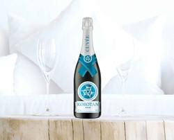 Champagne label for Korotan Hotel