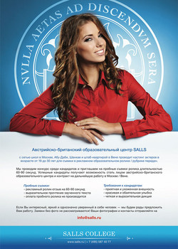 SALLS Advertising Flyer