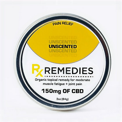 Regular Strength CBD Rub - Unscented - 150mg