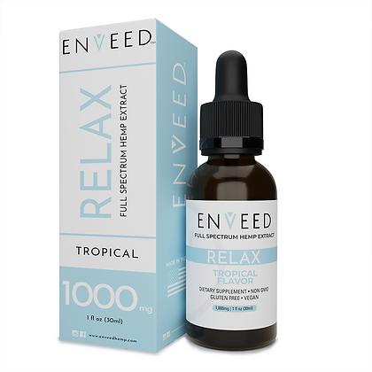 RELAX Full Spectrum CBD Oil - For Sleep and Anxiety (30mL Bottle)