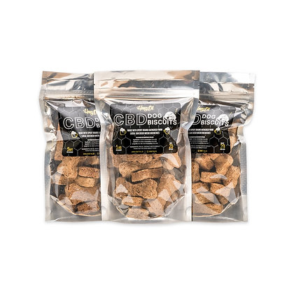 CBD Infused Dog Biscuits - 5mg per biscuit