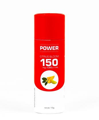 POWER CBD Vaporizer Oil - 150mg (Citrus Bloom)