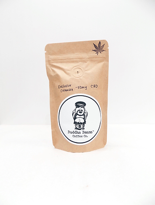 Whole Bean CBD Coffee -Exclusive Columbia Infused Coffee Beans