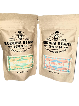 Premium CBD Coffee Combo - 2oz Bags