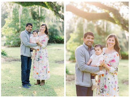 Fall Family Photo Session at Ardoyne Plantation in Houma, Louisiana.