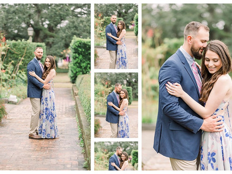 A New Orleans Botanical Garden Engagement Session | Houma & South Louisiana Wedding Photographers