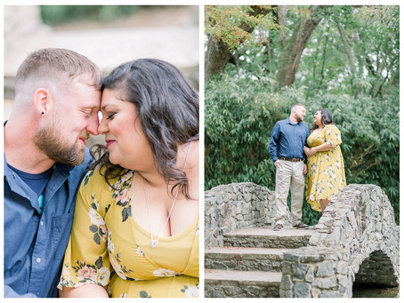 Courtnie & Kevin | A New Iberia, Louisiana Engagement Session at Jungle Gardens.