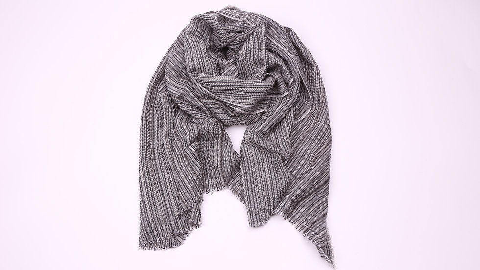 Two Colour Lightweight Scarf