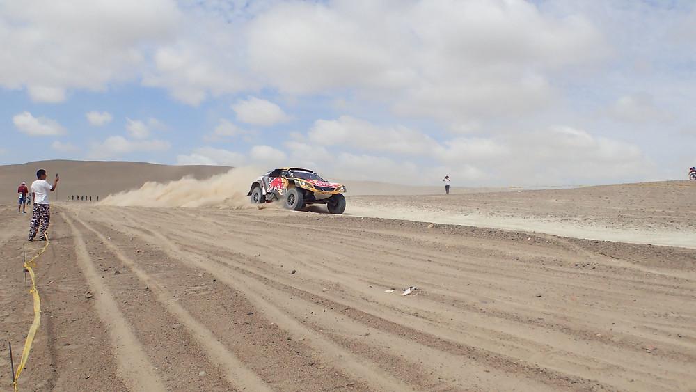 Peugeot Dakar 2018 car