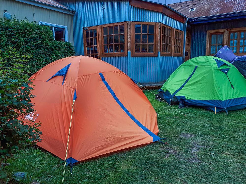 Camping at 'Lo de Momo's' in Ushuaia - AvVida.co.uk