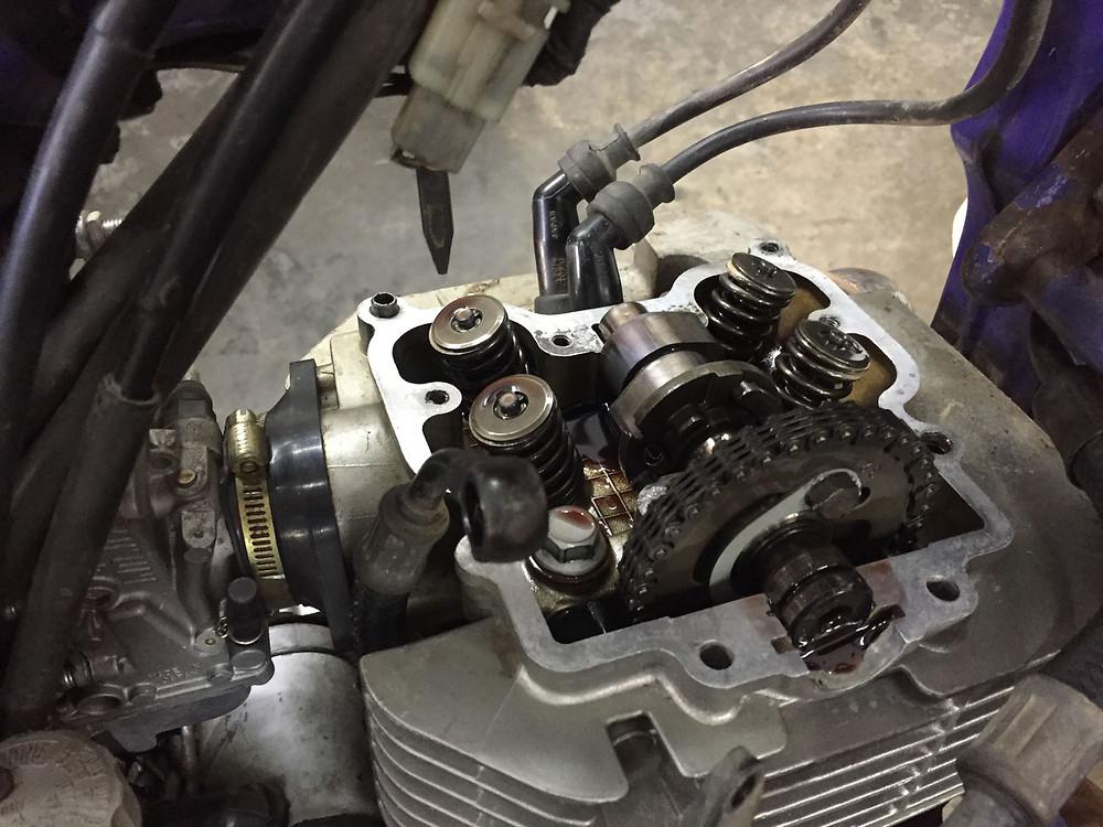 My engine head inside at Documoto.