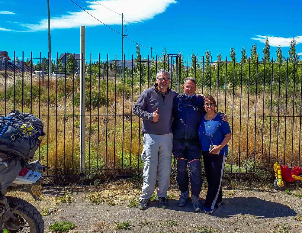 A fond farewell to Eduardo and Rosanna in El Calafate - AvVida.co.uk