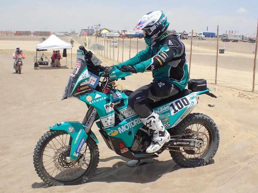 Lyndon Poskitt Dakar 2018