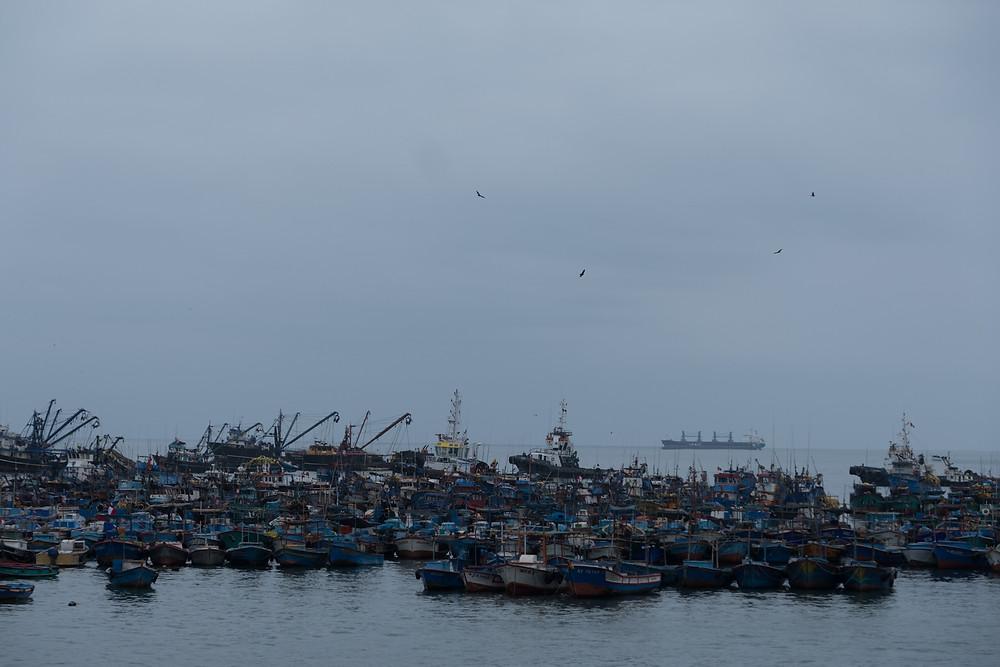 Ilo, Peru, fishing boats - AvVida.co.uk