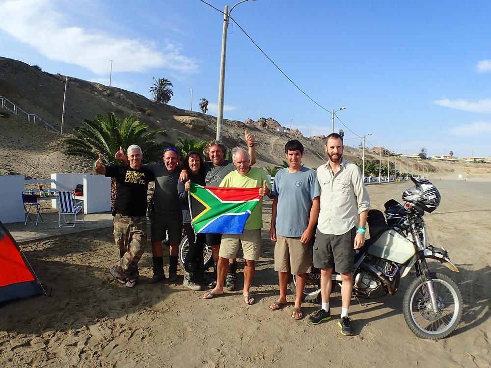 Dakar gang - Picture by Michnus Olivier