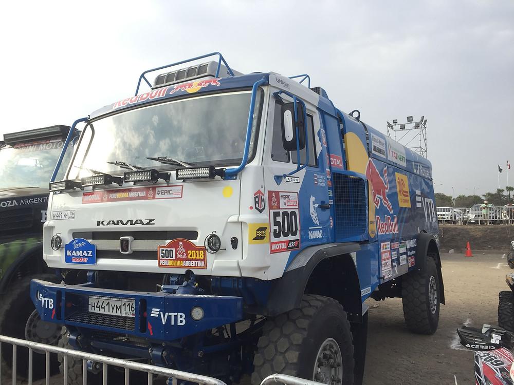 Kamaz truck Dakar 2018