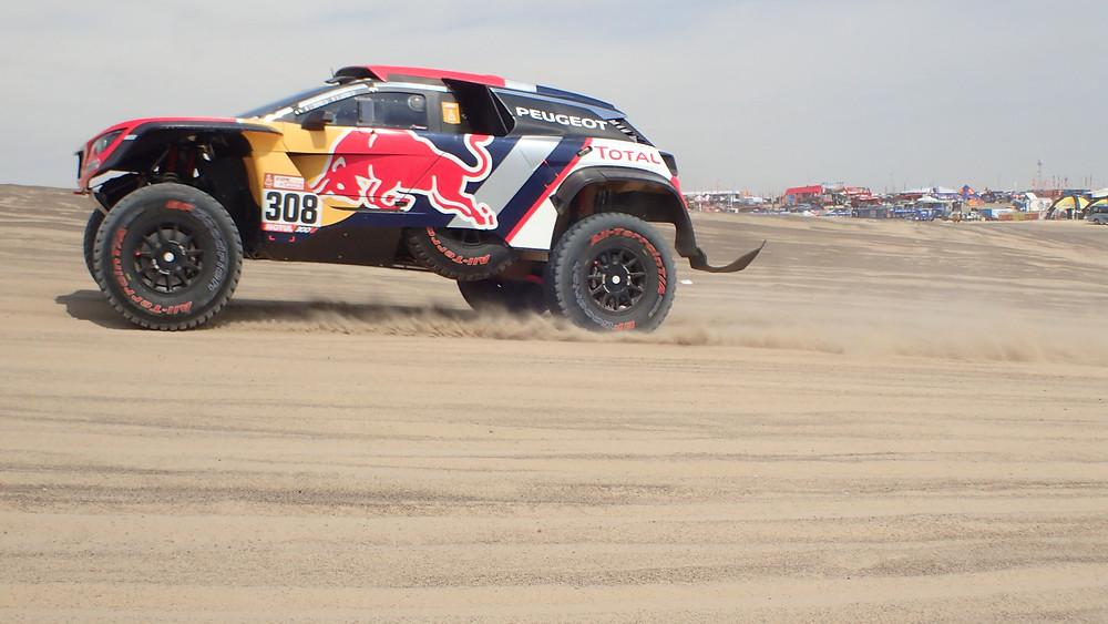 Dakar 2018 car no 308