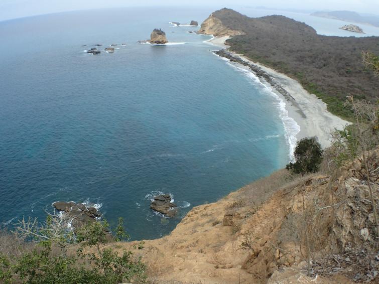 Beautiful Pacific coast line
