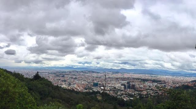Bogota...what a view!