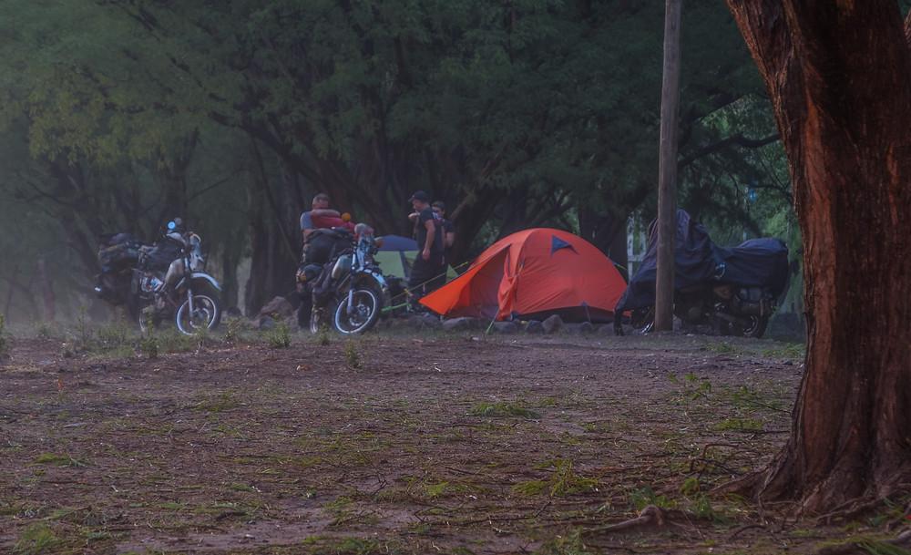 Campground with Aida and Paul - AvVida.co.uk