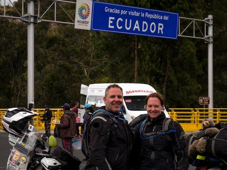 Week 23 - Adios Colombia, Hola Ecuador!